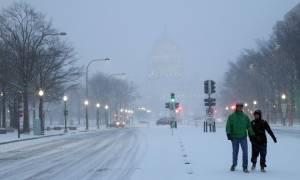 «Στέλλα»: Συναγερμός στις ΗΠΑ για τη σφοδρότερη χιονοθύελλα της σεζόν!
