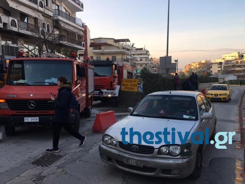 Τραγωδία στη Θεσσαλονίκη: Νεκρός ο χειριστής του γερανού που ανετράπη