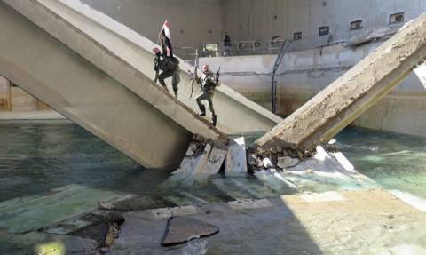 Έγκλημα πολέμου καταγγέλλει ο ΟΗΕ: Βομβάρδισαν σκοπίμως τη μοναδική πηγή πόσιμου νερού της Δαμασκού