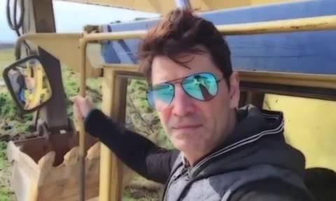 Ο Σάκης Ρουβάς... αγρότης! Επενδύει σε βιοαέριο στην Καρδίτσα