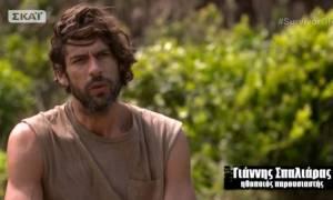 Survivor: Μόνο ο Σπαλιάρας θα μπορούσε να δώσει αυτή την απάντηση για το… σεξ (vid)