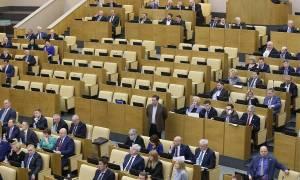 Фракция ЛДПР покинула зал заседаний Госдумы после критики единороссов