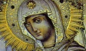 Υποδοχή Ιεράς Εικόνας Παναγίας Γερόντισσας στο Βόλο