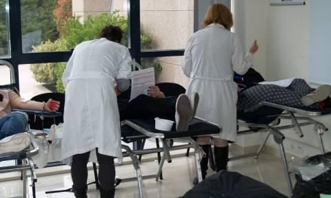 Εθελοντική αιμοδοσία των εργαζομένων της DEMO