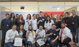 Σημαντικές διακρίσεις του Chef School ΙΕΚ ΑΛΦΑ Θεσσαλονίκης σε Διεθνή Διαγωνισμό Μαγειρικής