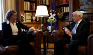 Παυλόπουλος για προσφυγικό: Πράξαμε το χρέος μας - Ζητάμε συμπαράσταση