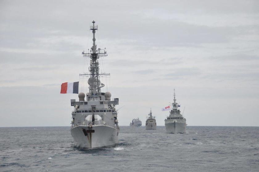 Πολεμικό Ναυτικό: Συμμετοχή στην διεθνή άσκηση Dynamic Manta (pics)
