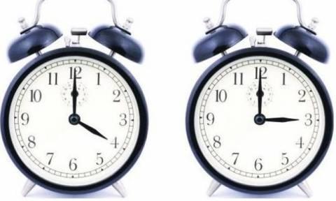 Αλλαγή ώρας στις 26 Μαρτίου