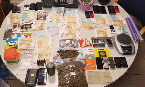 Θεσσαλονίκη: «Τίτλοι τέλους» για σπείρα εμπορίας ναρκωτικών - Συνελήφθησαν δέκα άτομα