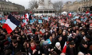 Προεδρικές εκλογές Γαλλία 2017: Μεγάλη πορεία στο κέντρο του Παρισιού