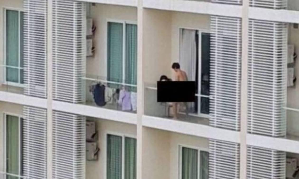 Έκαναν σεξ σε μπαλκόνι στην Πάτρα και τους έβγαλαν στο facebook (video)