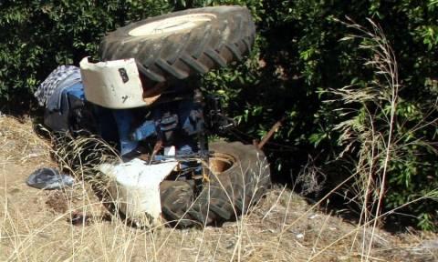 Τραγικός θάνατος αγρότη στο Ωραιόκαστρο: Καταπλακώθηκε από το τρακτέρ του