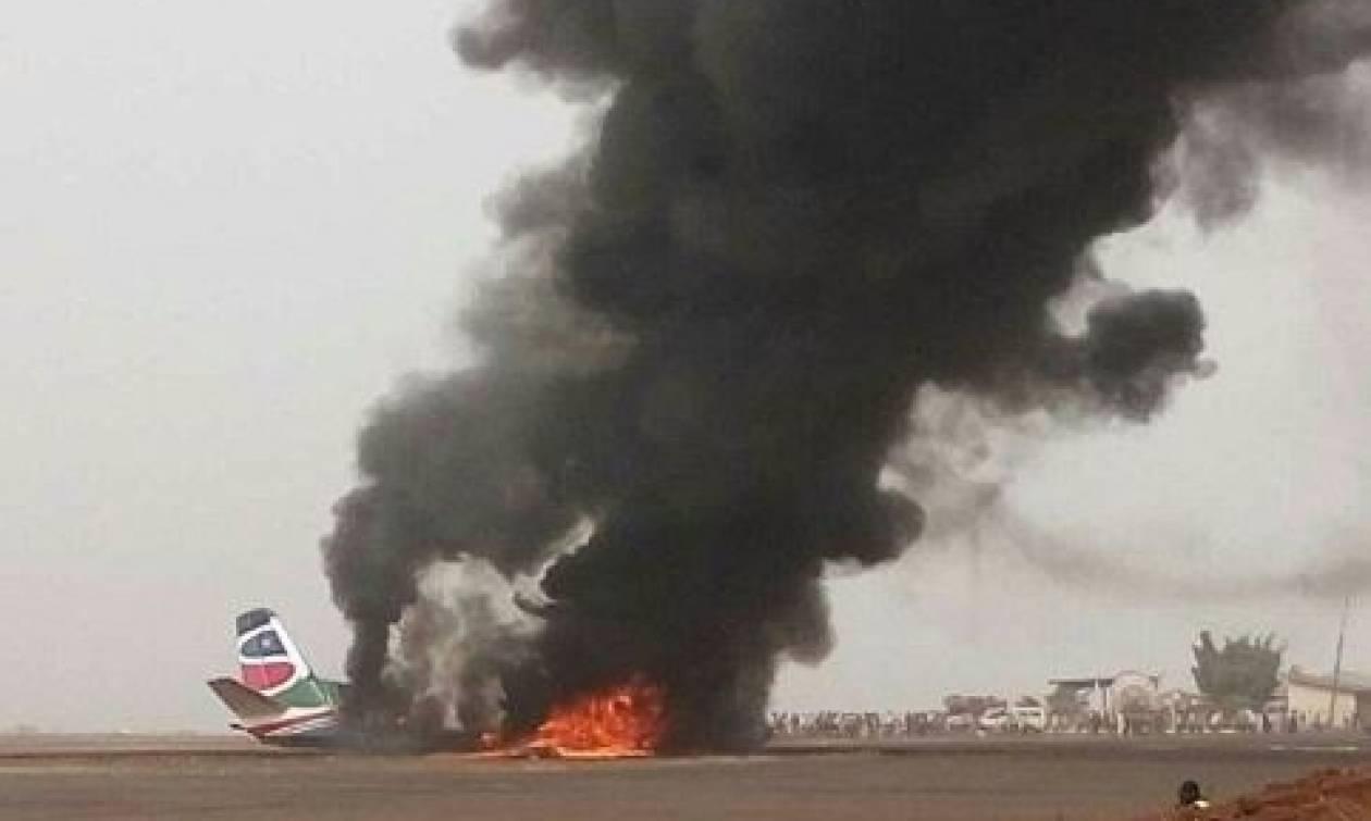 Θαύμα στο Νότιο Σουδάν: Συνετρίβη αεροσκάφος με 45 επιβάτες και είναι όλοι ζωντανοί (pics+vid)