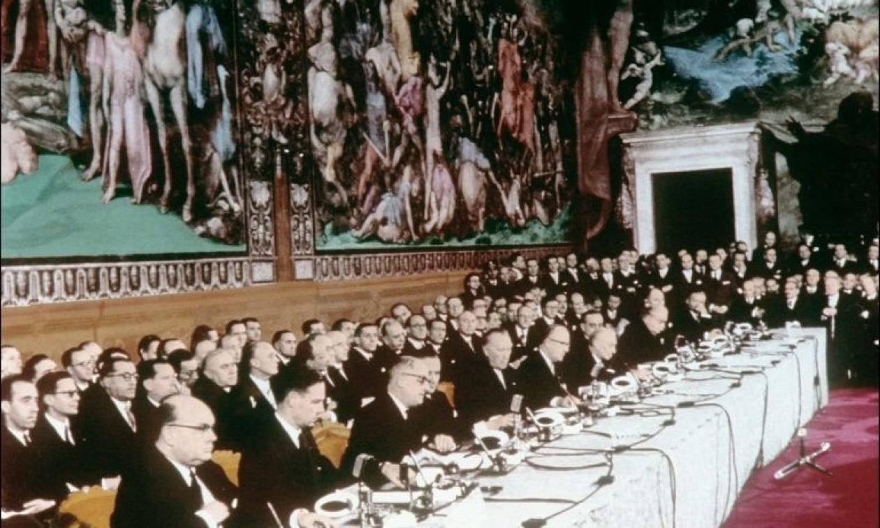 Συγκλονιστική αποκάλυψη 60 χρόνια μετά: Οι ιδρυτές της ΕΕ είχαν υπογράψει λευκές σελίδες (Vid)