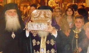 Ο Βόλος υποδέχθηκε το Λείψανο του Αγίου Λουκά του Ιατρού