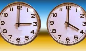 Αλλαγή ώρας -  Πότε και γιατί γυρίζουμε τα ρολόγια μία ώρα μπροστά