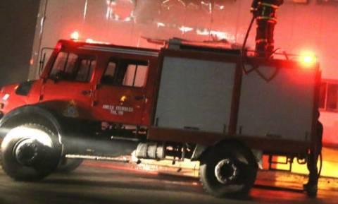 Τύρναβος: Μεγάλη πυρκαγιά σε εργοστάσιο