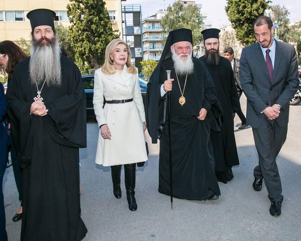Ο Αρχιεπίσκοπος Ιερώνυμος στη γιορτή της «ΕΛΠΙΔΑΣ» για την 25η Μαρτίου