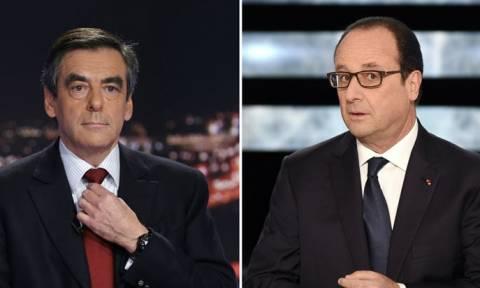Γαλλία - Εκλογές: Ο Φιγιόν κατηγορεί τον Ολάντ ότι βλάπτει την υποψηφιότητά του