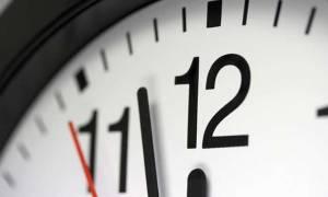 Αλλαγή ώρας: Την Κυριακή πάμε μία ώρα μπροστά