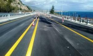 Προσοχή! Κυκλοφοριακές ρυθμίσεις στη νέα εθνική οδό Κορίνθου - Πατρών