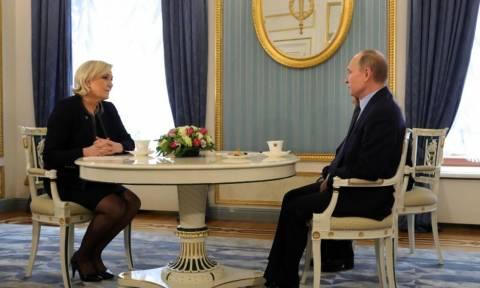 Путин встретился с Марин Ле Пен в Кремле