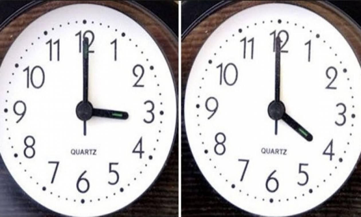 Προσοχή! Μην ξεχάσετε να αλλάξετε τα ρολόγια σας σε λίγες ώρες ... 7573ef4e2b6
