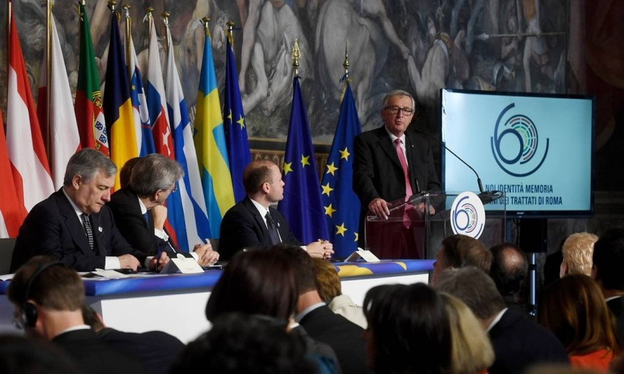 Γιούνκερ: «Πρέπει να είμαστε περήφανοι για την Ευρώπη»