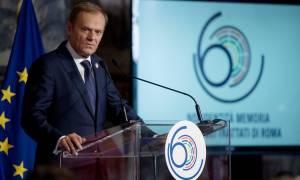Σύνοδος Ρώμης - Ιταλία: Έτσι απάντησε ο Τουσκ στις αξιώσεις Τσίπρα