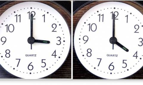 Clocks forward one hour for return to Daylight Saving Time on Sunday (26/03/2017)