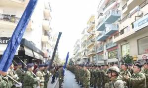 25η Μαρτίου -Έβρος: «Με μια φωνή» όλες οι στρατιωτικές μονάδες τραγουδούν τον εθνικό ύμνο