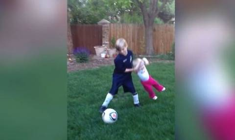 «Μάθε... αδερφή μου ποδόσφαιρο» (video)