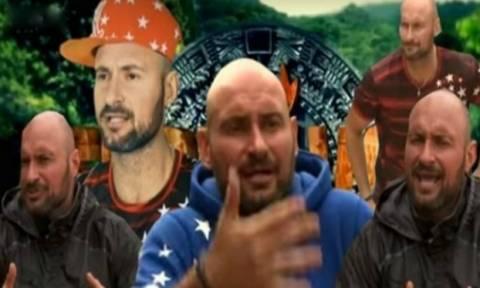 Survivor: Δείτε τον Πάνο από τους Μαχητές να παρελαύνει κρατώντας την ελληνική σημαία!