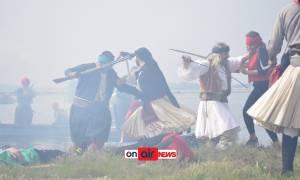 Εντυπωσιακές εικόνες! Αναβίωσε η μάχη της Κλείσοβας!