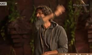 Survivor: Ο Σπαλιάρας έχασε σε ερώτηση περί…σεξ και έγινε έξαλλος!
