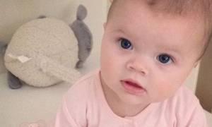 Για πρώτη φορά: Αυτή είναι η 6 μηνών κόρη γνωστής παρουσιάστριας