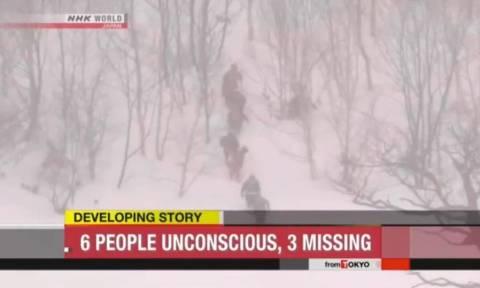 Ιαπωνία: Φονική χιονοστιβάδα χτυπά το Τόκιο – Τουλάχιστον οχτώ παιδιά νεκρά (Pics+Vid)