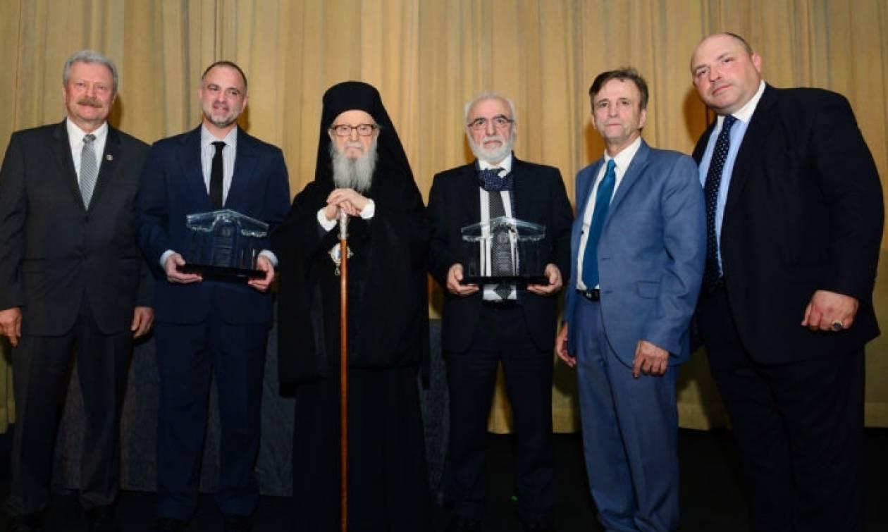 Η Ελληνική Ομοσπονδία Νέας Υόρκης τίμησε τους ευεργέτες της