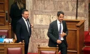 Τετ α τετ Στουρνάρα-Μητσοτάκη με φόντο την ελληνική οικονομία