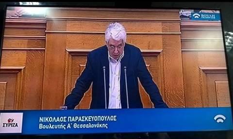 Ο Παρασκευόπουλος και η «Θεσσαλονόκη»...