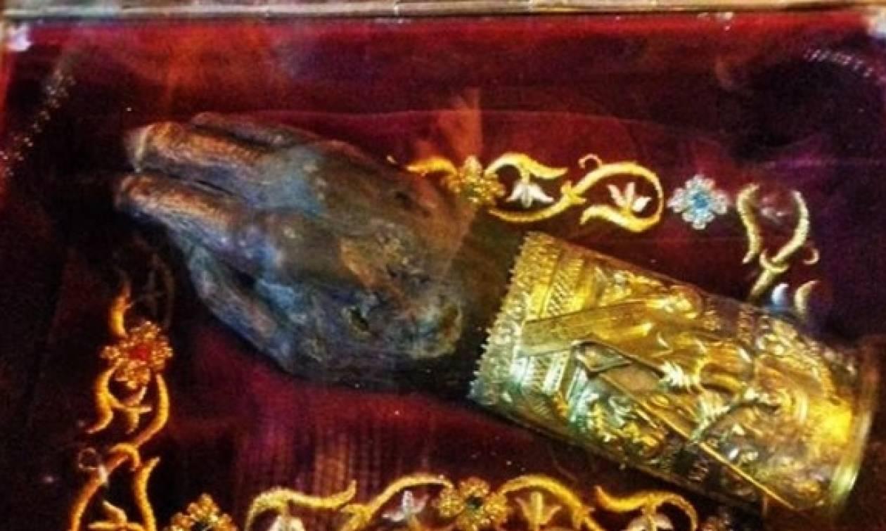 Λείψανο του Αγίου Γρηγορίου του Θεολόγου από σήμερα 28/3 στα Χανιά