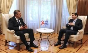 В Афинах состоялась встреча Алексиса Ципраса и Георгия Квирикашвили