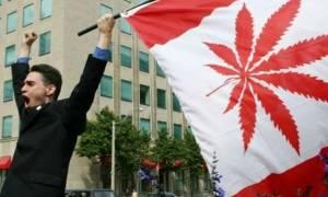 Η χρήση κάνναβης νομιμοποιείται και στον Καναδά