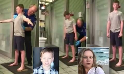 Αστυνομικοί παρενοχλούν έφηβο με ειδικές ανάγκες λέγοντας ότι κάνουν έλεγχο ασφαλείας (video)