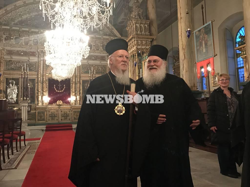 Παρασκήνιο από τη συγκινητική συνάντηση Οικουμενικού Πατριάρχη Γέροντα Εφραίμ στο Φανάρι (pics)