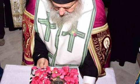 Το άφθαρτο χέρι του Αγίου Γρηγορίου του Θεολόγου υποδέχθηκαν τα Χανιά (pics)
