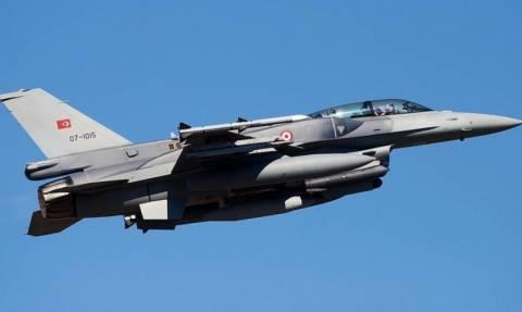 Μπαράζ παραβιάσεων στο Αιγαίο από τουρκικά F-16