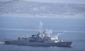 Συναγερμός στο Αιγαίο: Οι Τούρκοι ρίχνουν πραγματικά πυρά έξω από το Καστελλόριζο