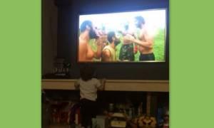 Survivor: Το βίντεο που ανέβασε η γυναίκα του Χανταμπάκη με τον γιο τους και μας συγκίνησε