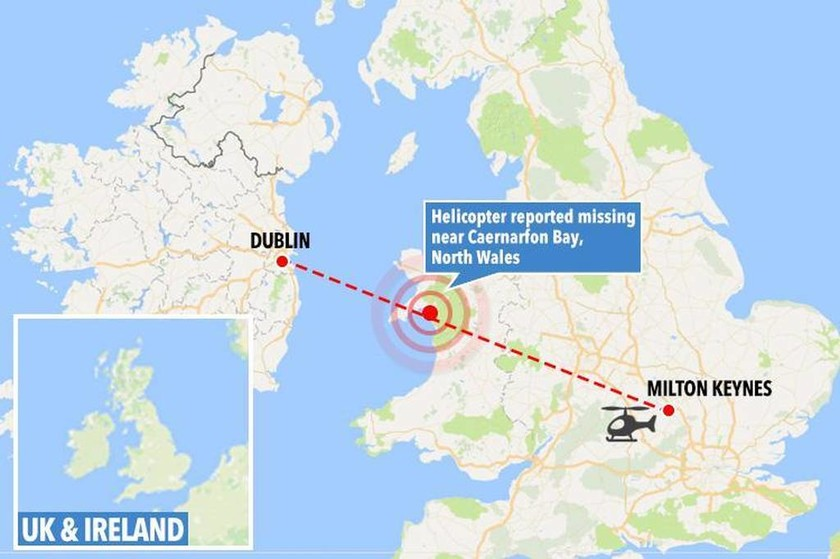 Συναγερμός στην Ουαλία: Συνετρίβη ελικόπτερο - Τουλάχιστον πέντε νεκροί (pics)
